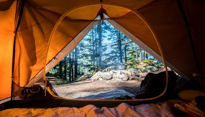 Camping pitches for tents in Alta Badia